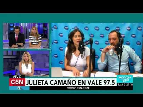 C5N - Duplex de Argentina en vivo con Tal Para Cual 01-12-15