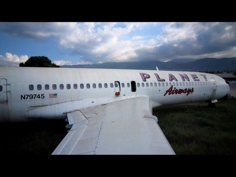 Abandoned Boeing 727-224 Adv N79745 Planet Airways
