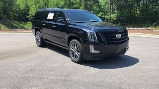 2019 Cadillac Escalade Premium Luxury Sport Edition Walkaround Review and Features