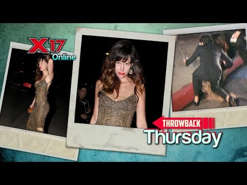 Throwback Thursday: Drunk Paz de la Huerta Denied Entry At Chateau Marmont