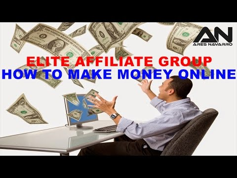 Elite Affiliate Group│How to make money online!