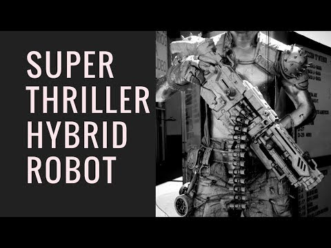 Super Thriller Hybrid Robot Music Epic Game Dance Action Gaming Robotics Kuka Automatica