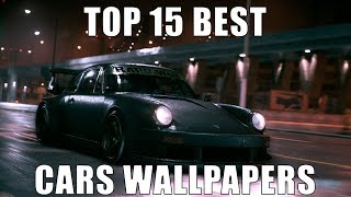 Gambar cover TOP 15 BEST CARS WALLPAPERS FOR WALLPAPER ENGINE
