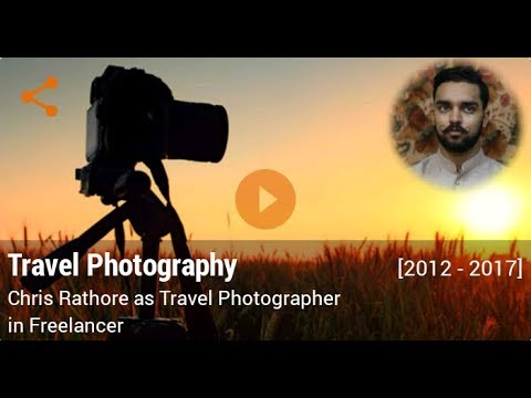 Career in Travel Photography