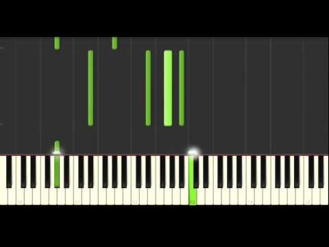 My Skin - Natalie Merchant | Synthesia tutorial (With original song)