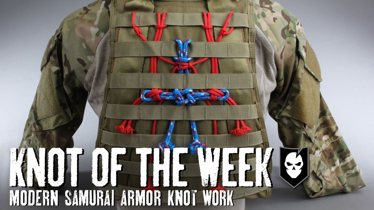 Knot of the Week: Modern Samurai Armor Knot Work with the ...
