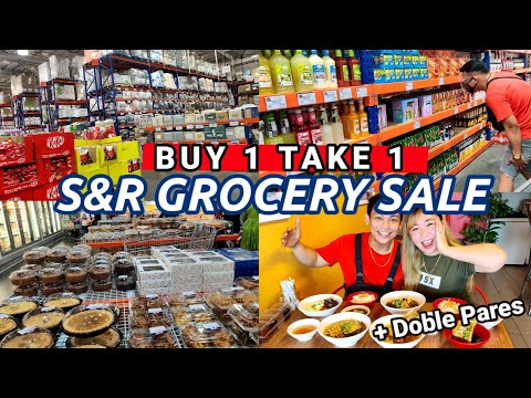 MAY 2021 SNR GROCERY SALE | BUY1TAKE1 (Grocery, Chocolates & Toiletries) + DOBLE PARES FOODTRIP