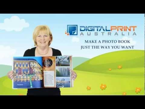Digital Print Australia Photo Books