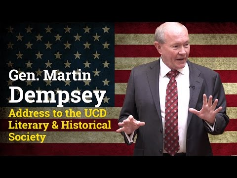 General Martin Dempsey address to the UCD Literary & Historical Society (2017)