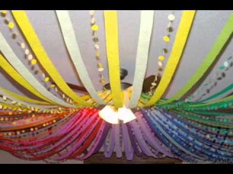 diy birthday party decorations for kids youtube