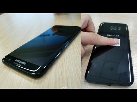 Samsung Galaxy S7 Edge Black Pearl Variant With 128gb