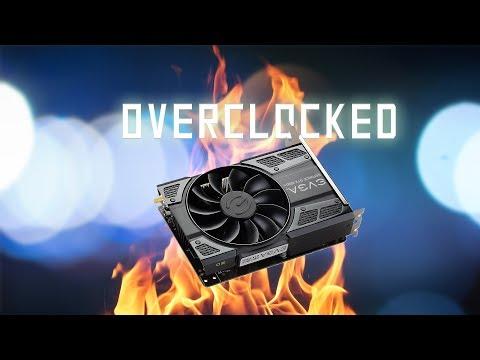 Overclock your GPU the easy way | GTX 1050ti