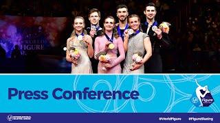 ISU World Figure Skating Championships 2019, Press Conference: Ice Dance Medalists