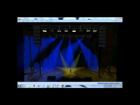 Download david guetta titanium (light show)