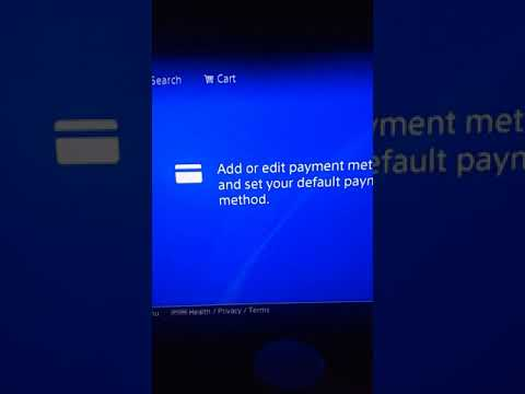 How to add a PayPal to your ps4 - YouTube