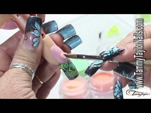 ♡ Tammy Taylor - Irish Leprechaun Nail Design