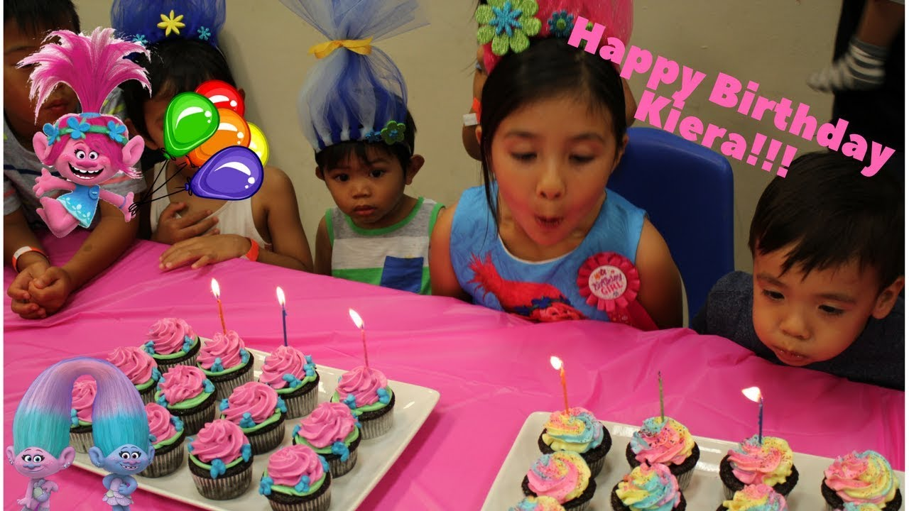 My Troll Birthday Party At Pretend City Children S Museum Youtube
