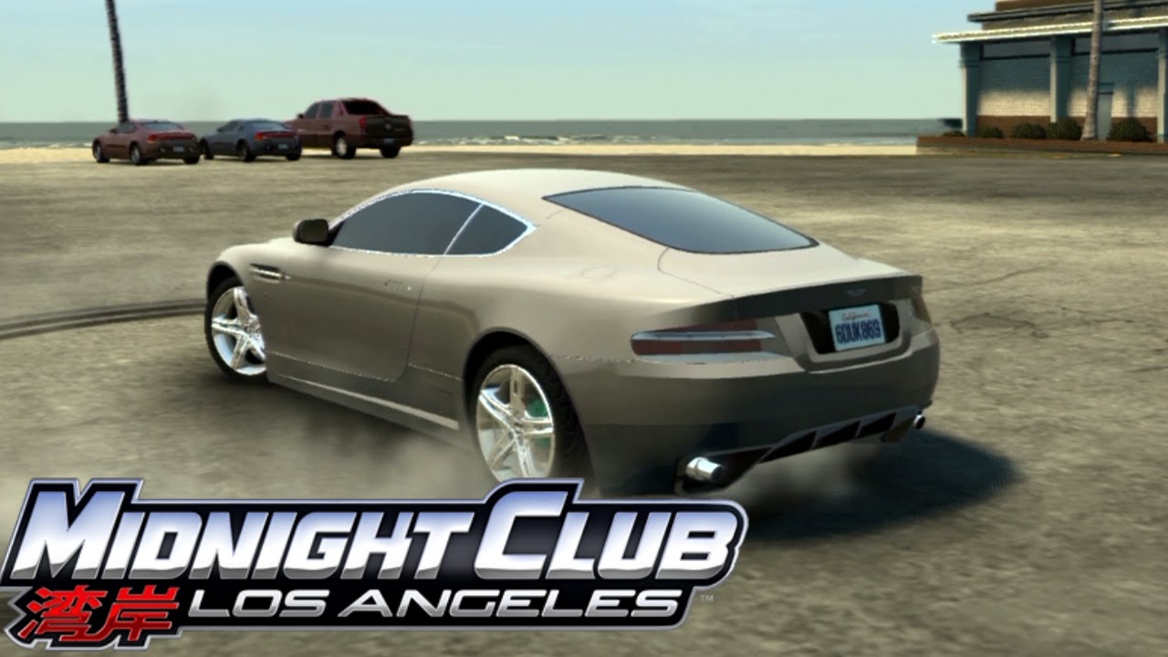 Midnight Club Los Angeles Aston Martin DB Customization YouTube - Aston martin los angeles