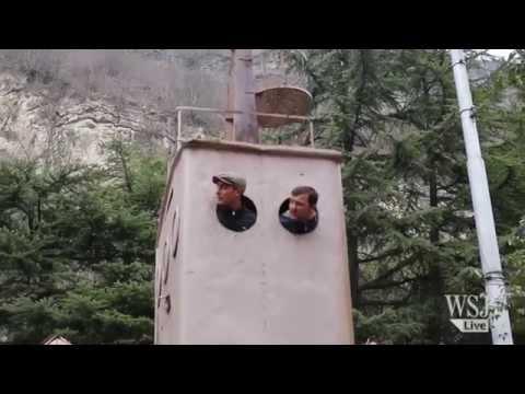 Riding 'Metal Coffins' Through Georgia's Mountains