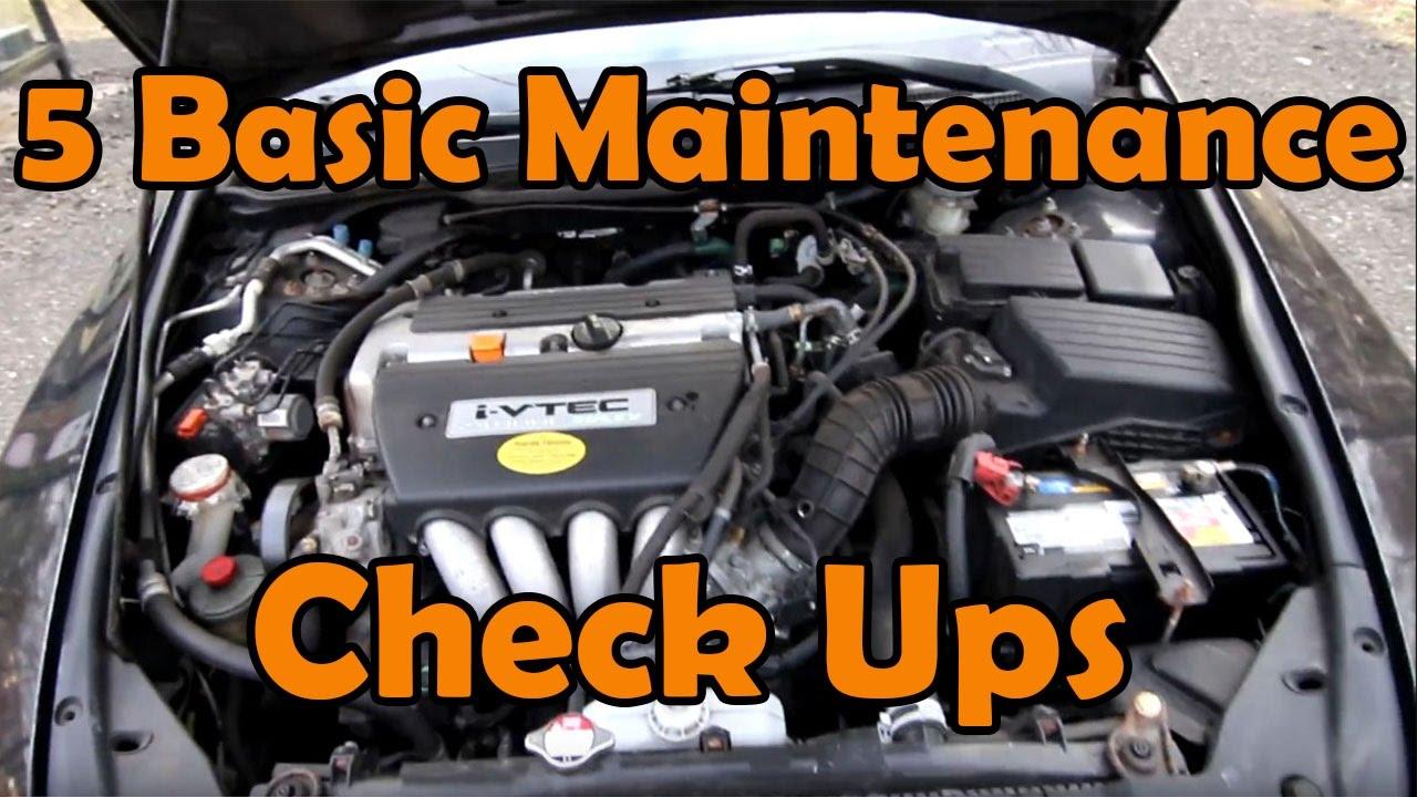 Basic Car Maintenance >> 5 Basic Diy Car Maintenance Checks Youtube