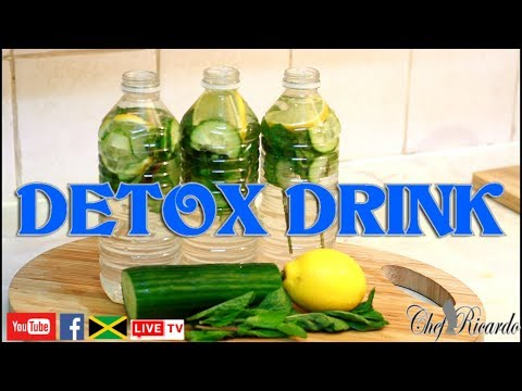detox-your-body!!-how-to-lose-belly-fat.-apple-cider-vinegar|-recipes-by-chef-ricardo