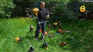 видео Аксессуары для газонокосилок