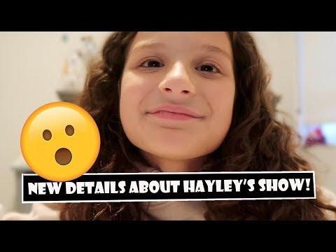 New Details About Hayley's Show! 😲 (WK 386.2) | Bratayley