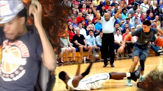 I HAD TO END THE VIDEO! LONZO BALL IS THE #1 PG IN THE NATION REACTION!!