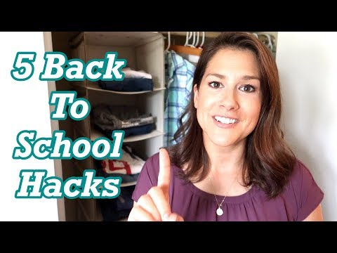 5 BACK TO SCHOOL Mom HACKS ~ 2019
