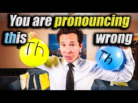 Learn the 2 different TH sounds in English
