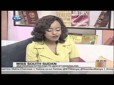 Morning Express interview with Sophia Wanuna and Miss South Sudan Modong Manuela