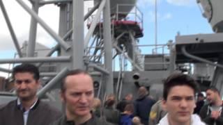 Göksu Fırkateyni ziyaretçi akınına uğradı Telif hakkı:Ünsal Turan