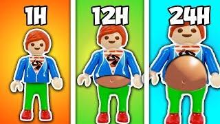 Playmobil Film Deutsch JULIANS 24 STUNDEN VIELFRAß CHALLENGE! ER ÜBERTREIB! Familie Vogel