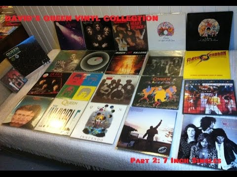 Davids Queen Collection Part 2   7' SIngles and More Vinyls