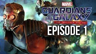 GUARDIANS OF THE GALAXY Gameplay Walkthrough Part 1 - Episode 1