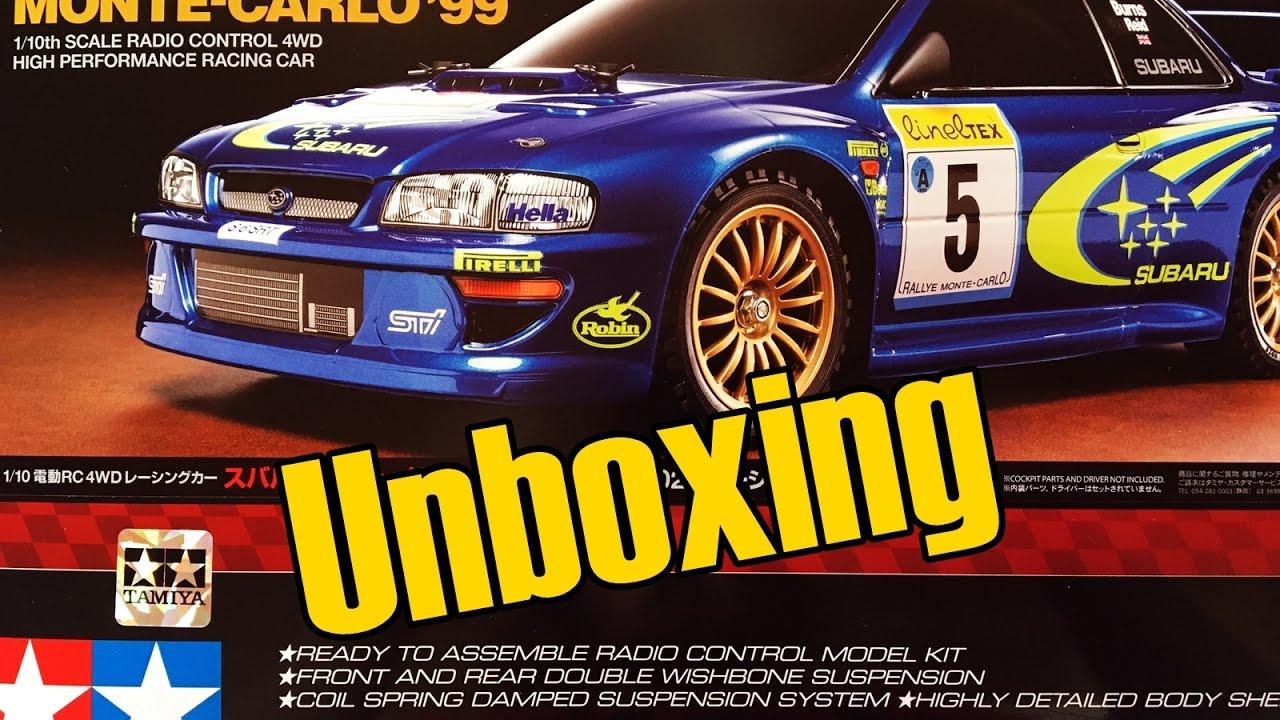Tamiya Subaru Impreza Monte Carlo 99 TT 02 Chassis Unboxing