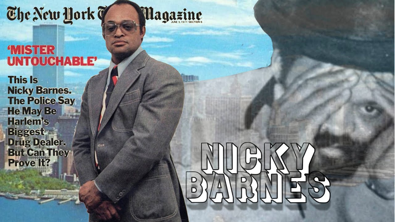 Nicky Barnes Documentary King of Harlem 1970s