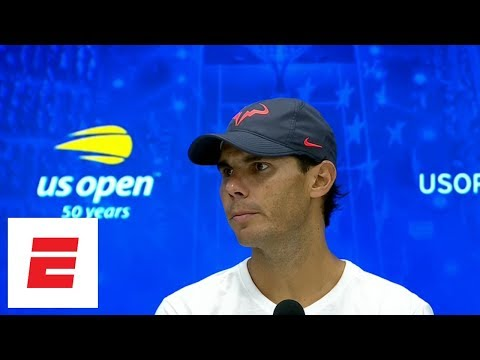 Rafael Nadal describes the knee pain that made him retire from the US Open semifinals | ESPN