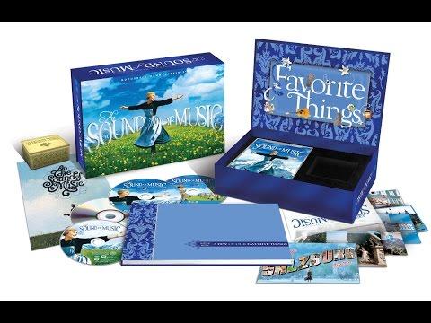 "Распаковка Blu-ray ""Звуки музыки"" коллекционное издание / Sound of Music collectors edition unboxing"