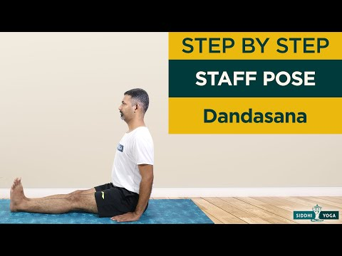 Dandasana (Staff Pose or Base Pose) How to Do Step by Step for Beginners, Benefits and Precautions