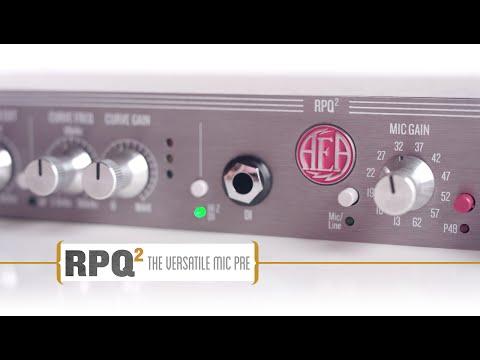 AEA RPQ2 2-Channel Microphone Preamp