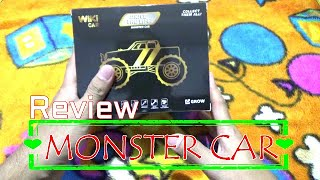 Review monster car dari indomaret