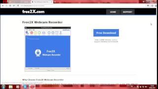 Как снимать видео с вебкамеры ноутбука или компютера?(Скачаем програму: Ссылка: http://www.free2x.com/webcam-recorder/ Програма называется Free 2X Webcam Recorder., 2015-06-20T17:07:04.000Z)