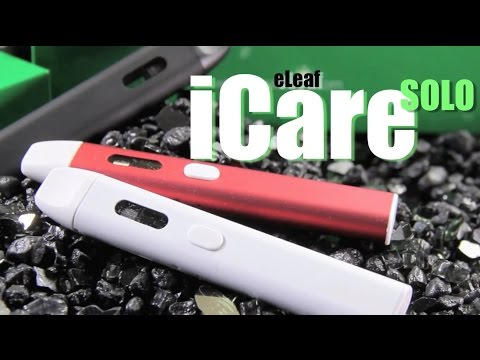New ICare SOLO By ELeaf ~Starter Kit Review~ (ALL IN ONE KIT)