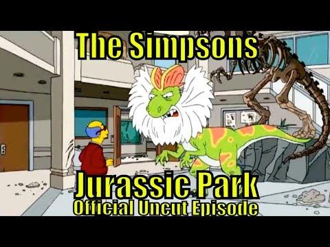 Bart Simpsons Jurassic Park Dino Dinosaur
