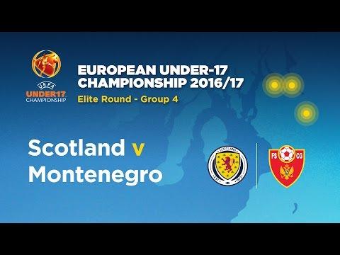 LIVE! Scotland v Montenegro U17's
