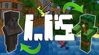 Minecraft 1.15 Zapowiedziane! Co Nowego? Aktualizacja Dżungli! 2 Nowe Bossy! Mechanika Walki!