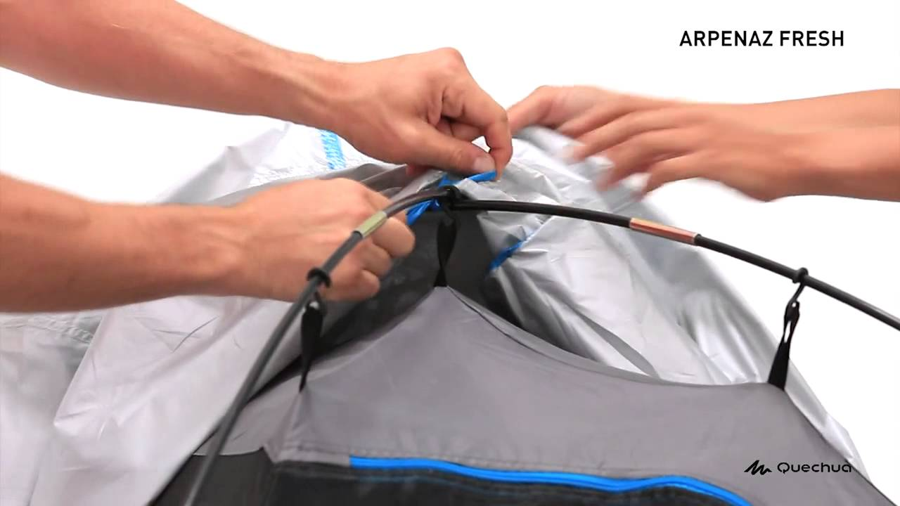 Arpenaz 3 Fresh Tent 3 People & Arpenaz 3 Fresh Tent 3 People - YouTube