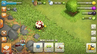 Getting 1000 gems just from removing one object in clash of clans