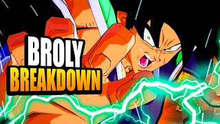 Broly (DBS) Breakdown! Dragon Ball FighterZ Tips & Tricks